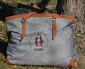 Custom Print Canvas Shootist Bag