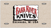 Bark River Knives License Plate