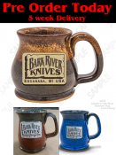Bark River Knives  16 oz. Stoneware Mug  LIMITED RUN