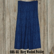 Cowgirl Skirt Washed Paisley